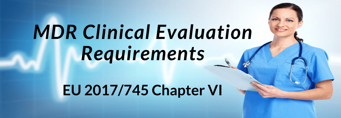 MDR Clinical Evaluation Requirements